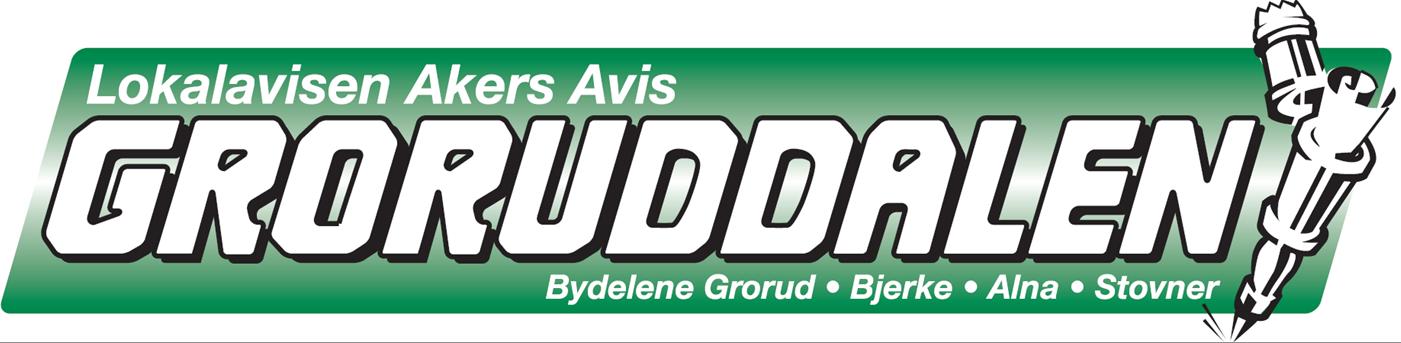 Akers Avis Groruddalen Logo u skygge